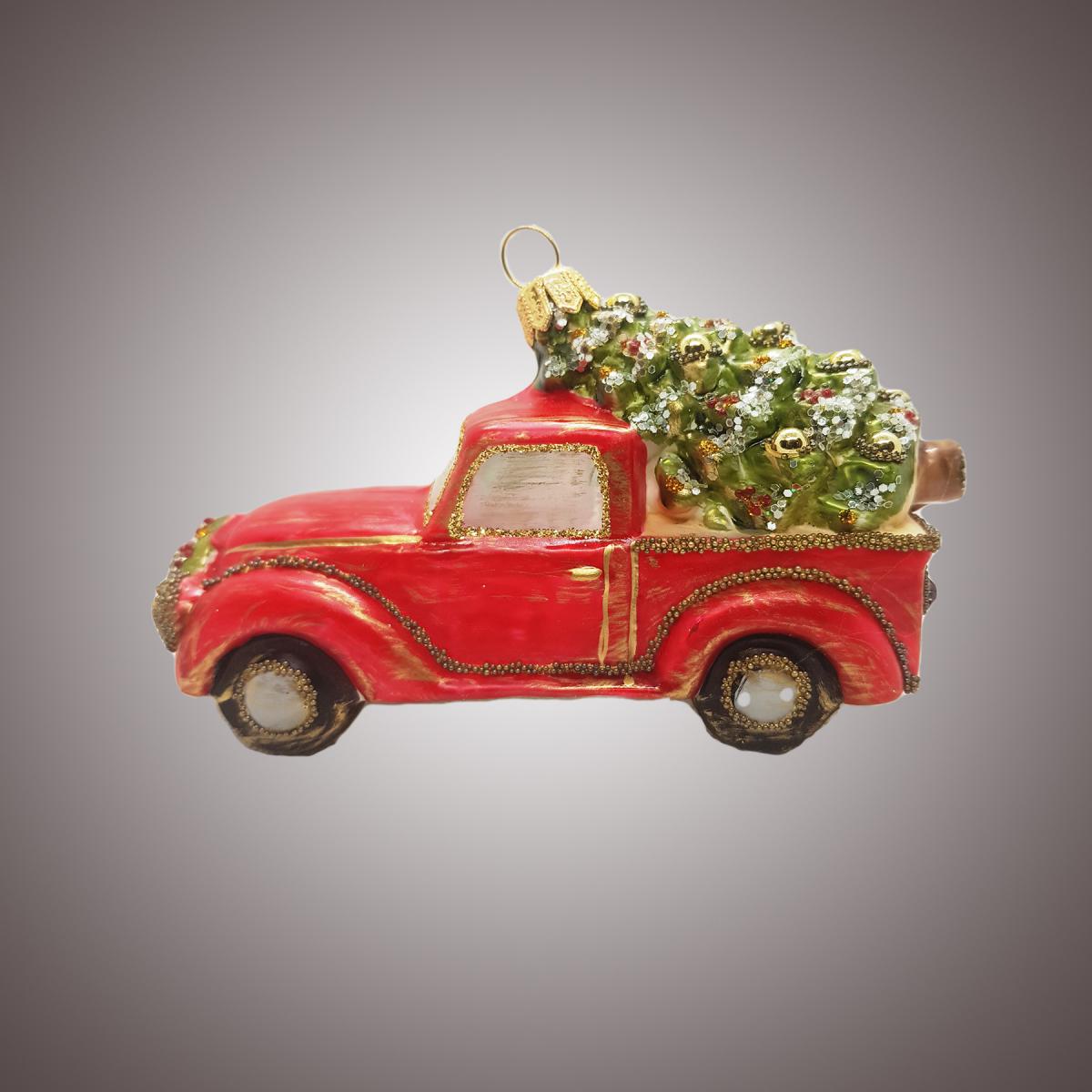 Машинка с ёлкой (винтаж)