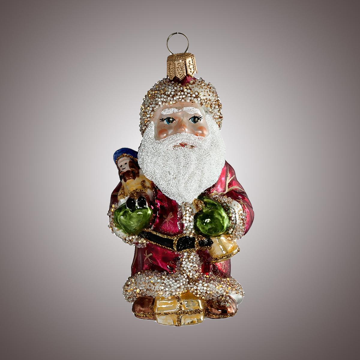 Дед Мороз с солдатиком и колокольчиком