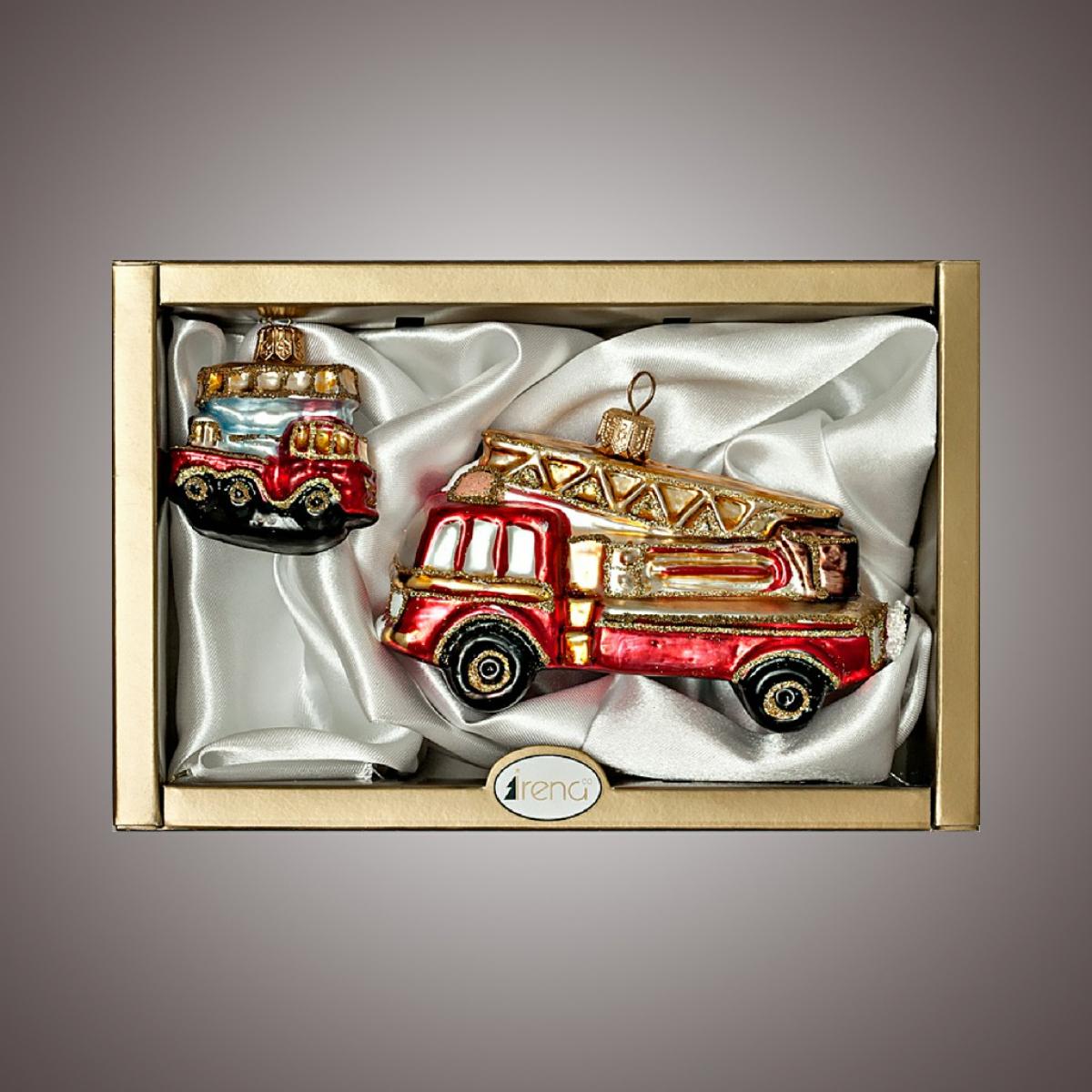 """Набор """"Пожарные машинки""""2 шт."""