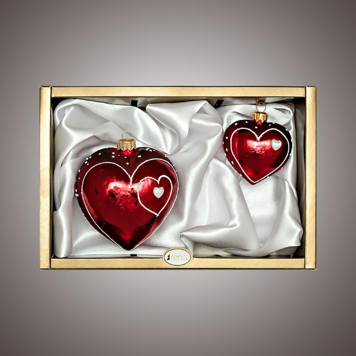 """Набор """"Сердце большое,маленькое"""""""