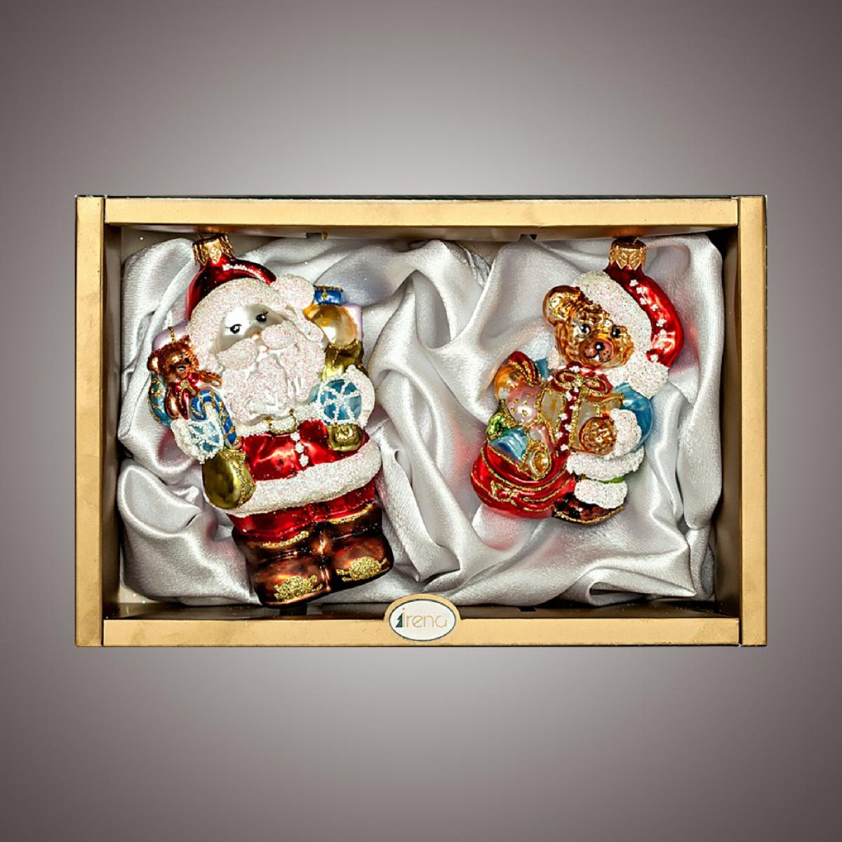 """Набор """"Санта с подарками,мишка с подарками"""""""