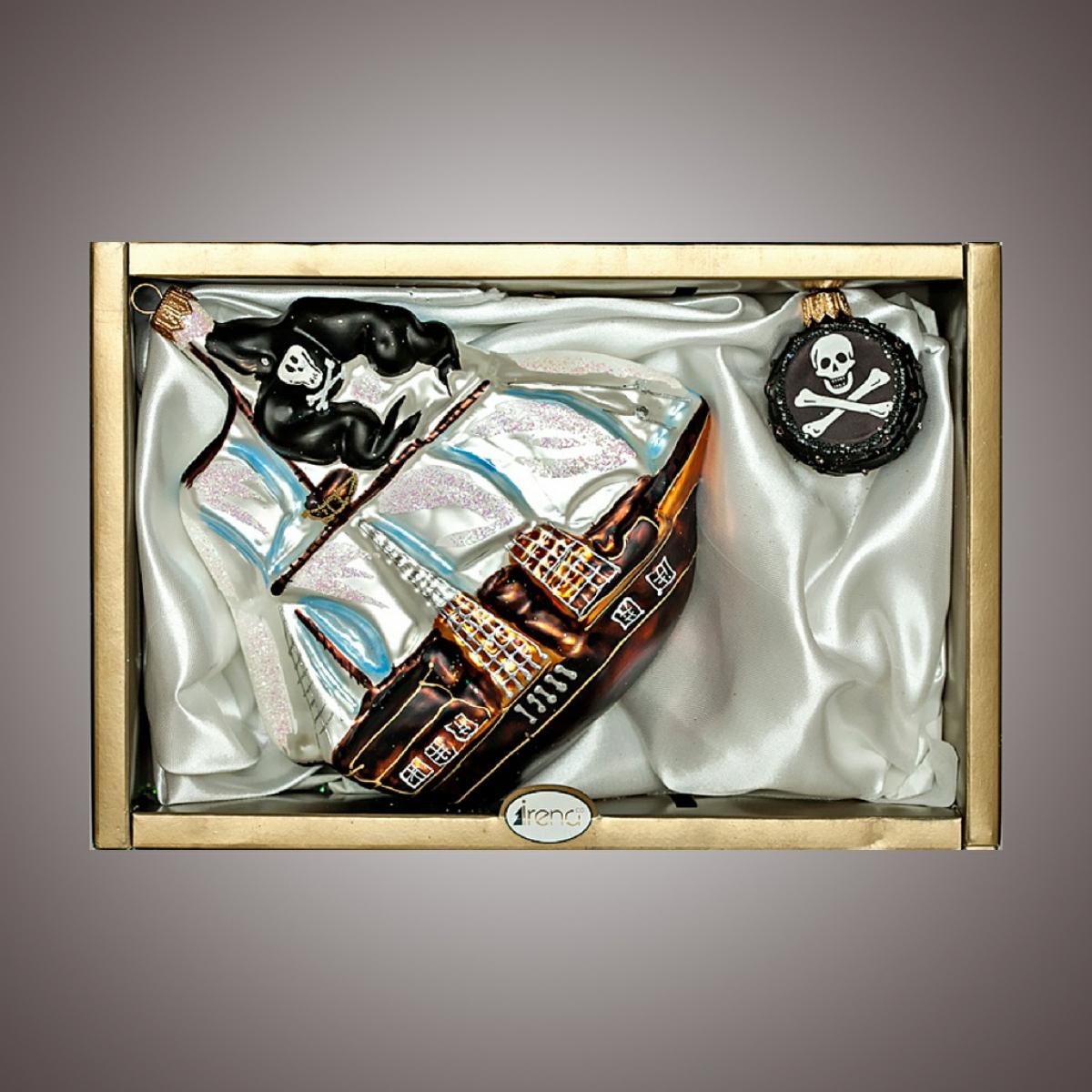 """Набор """"Корабль,фигурка"""" Черная метка"""