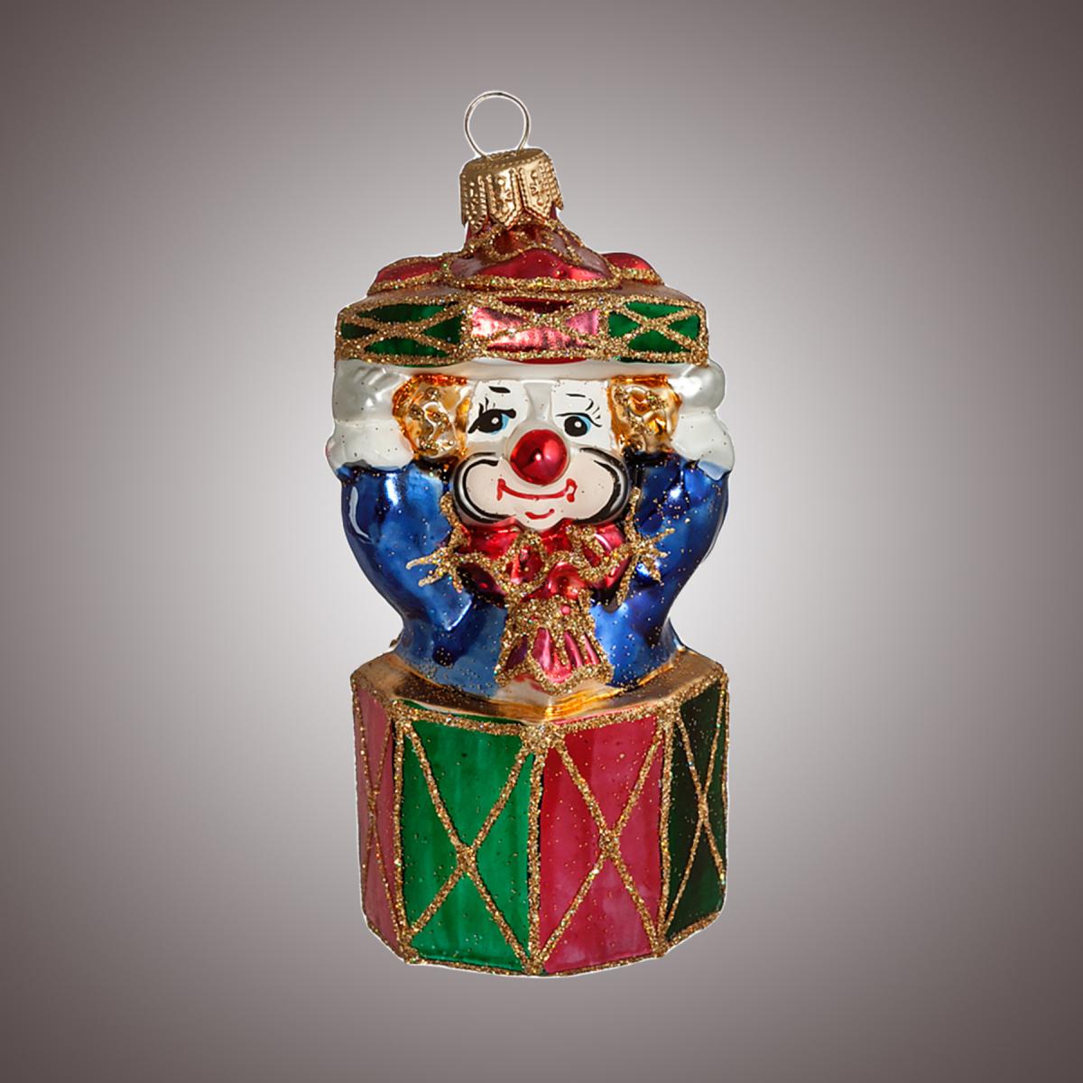 Клоун в подарке